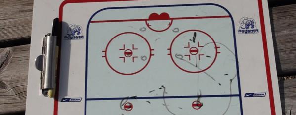 HCLM I: entraînements sur glace du jeudi