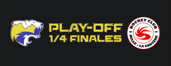 Derby fribourgeois: 1/4 de finales des play-off