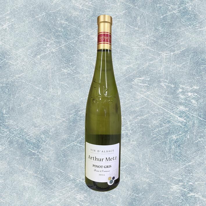 Vin – Blanc – Arthur Metz Pinot Gris